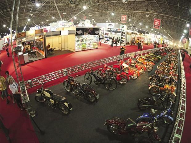 Salão da Motocicleta terá espaço para motos clássicas (Foto: Divulgação)