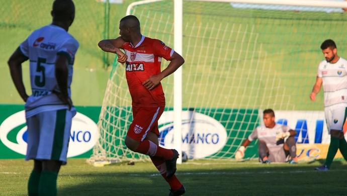 Neto Baiano do CRB (Foto: Ailton Cruz/Gazeta de Alagoas)