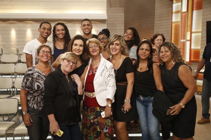 Mais plateia com a Fátima  (Foto: Raphael Dias/Gshow)