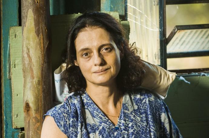 Denise Fraga é Cândida (Foto: João Miguel Júnior / TV Globo)