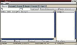 MLDonkey, compartilhador de arquivos
