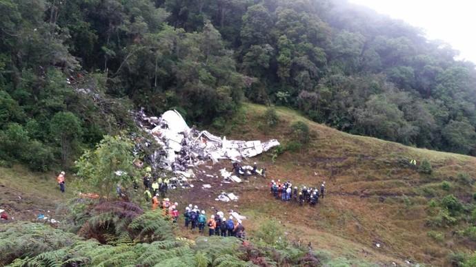 Avião Chapecoense (Foto: Reprodução)