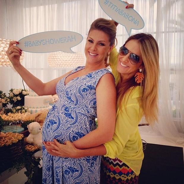 Ana Hickmann e Ticiane Pinheiro (Foto: Instagram / Reprodução)