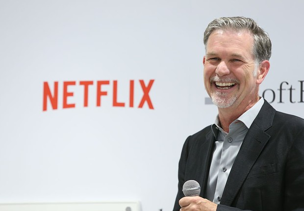 Reed Hastings, CEO do Netflix (Foto: Ken Ishii/Getty Images)