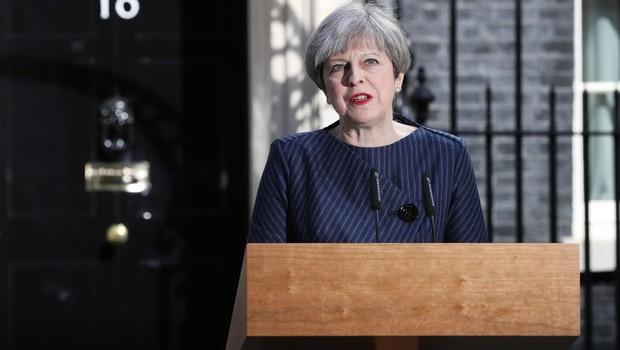 Theresa May anuncia eleições no Reino Unido para junho (Foto: Dan Kitwood/Getty Images)