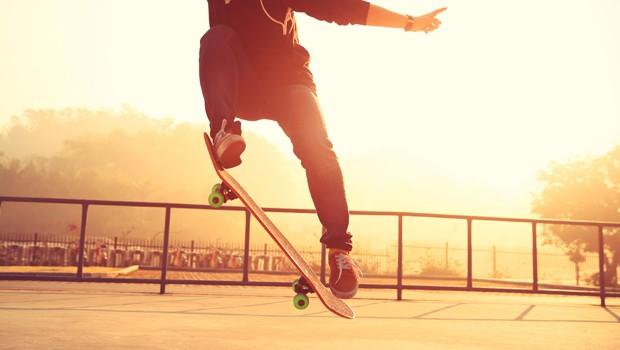 Histria do skate: modalidades acompanharam a evoluo do esporte (Foto: Shutterstock / LZF)