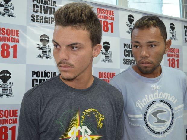 Suspeitos se reconhecem no vídeo, mas dizem que não participaram do crime (Foto: Marina Fontenele/G1 SE)