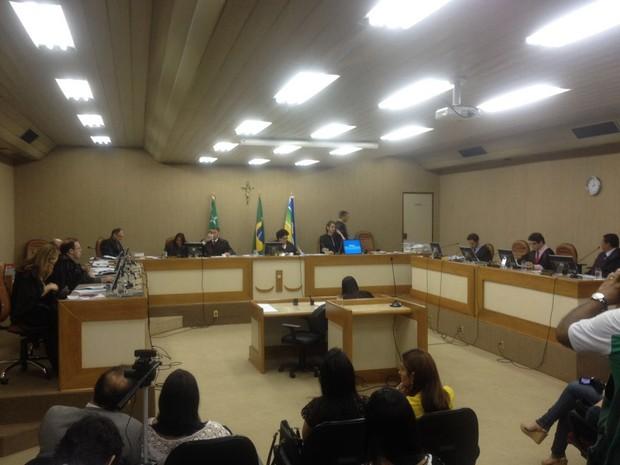 Justiça, Operação Eclésia, Pleno, Tribunal, Corrupção, Macapá, Amapá (Foto: Abinoan Santiago/G1)