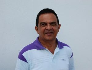 Francisco Diá, técnico do Campinense (Foto: João Brandão Neto / GloboEsporte.com)