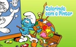 Colorindo com o Pintor