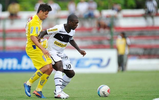 Jean e Seedorf, Madureira x Botafogo (Foto: Fabio Castro/AGIF)