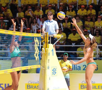 Larissa e Talita - circuito brasileiro brasília vôlei de praia campeãs (Foto: Matheus Vidal)