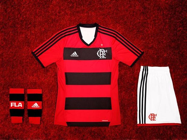 camisa Flamengo Adidas lançamento (Foto: Divulgação)