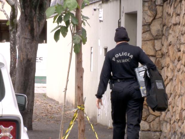 Materiais foram apreendidos na Operação Alquimia, no Espírito Santo (Foto: Reprodução/ TV Gazeta)