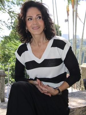 Yoná Magalhães foi Esther na novela Cobras e Lagartos, da TV Globo (Foto: Isac Luz / TV Globo)