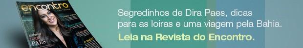 Rodapé revista do Encontro - Dira Paes (Foto: Encontro com Fátima Bernardes/TV Globo)