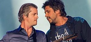 Victor & Leo balançam corações na Arena (Érico Andrade/G1)