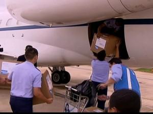 Chega ao Brasil medicamento para as vítimas de incêndio em Santa Maria (RS) (Foto: Reprodução Globo News)