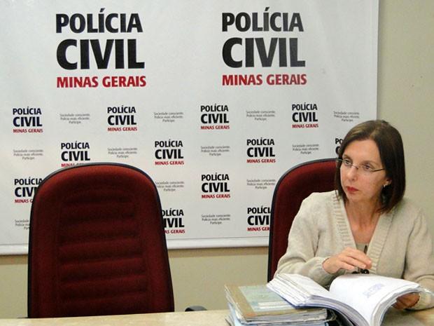 Delegada Cristina Coelli diz que DNA ajudou em caso (Foto: Carolina Farah/G1)