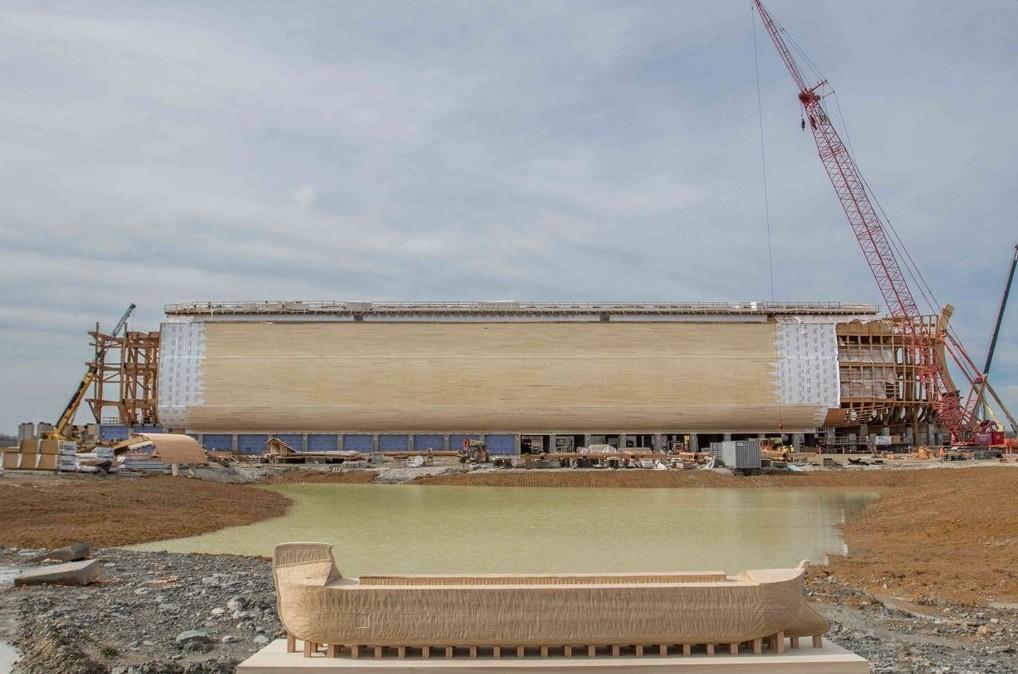 A arca tem proporções bíblicas