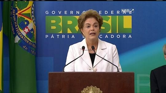 Dilma dá posse aos novos ministros da Justiça, da AGU e da CGU