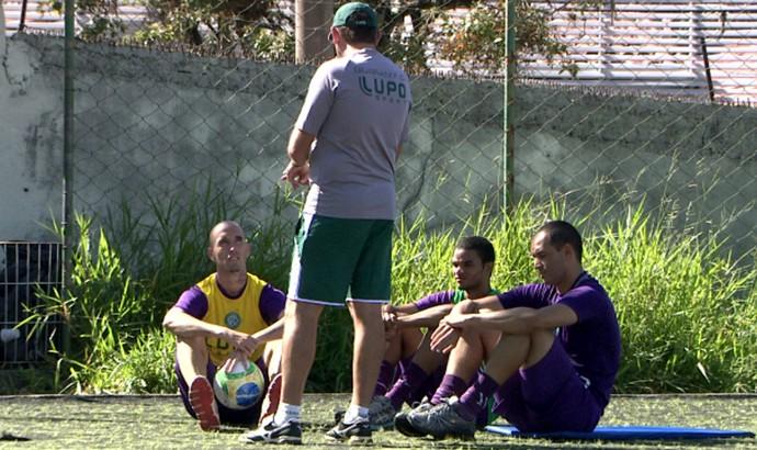 Guarani treino Brinco de Ouro (Foto: Reprodução / EPTV)