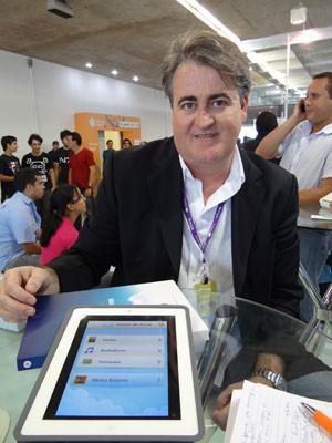 Jonas Suassuna, presidente do Grupo Gol (Foto: Luna Markman/G1)