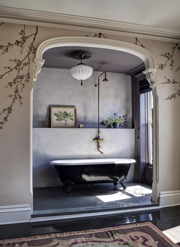 Gótico suave na decoração (Foto: Reprodução)