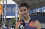 Nícolas, atleta de 17 anos é a jovem promessa do basquetebol de Rondônia que atua em Goiás