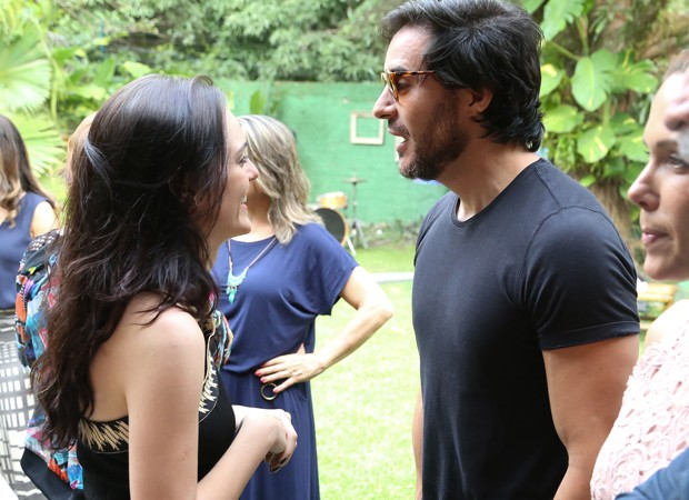 Isabelle Drummond e Ricardo Tozzi (Foto: Roberto Filho/Brazil News)