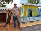 Após ar-condicionado, cadela Hana tem a casa reformada no Tocantins
