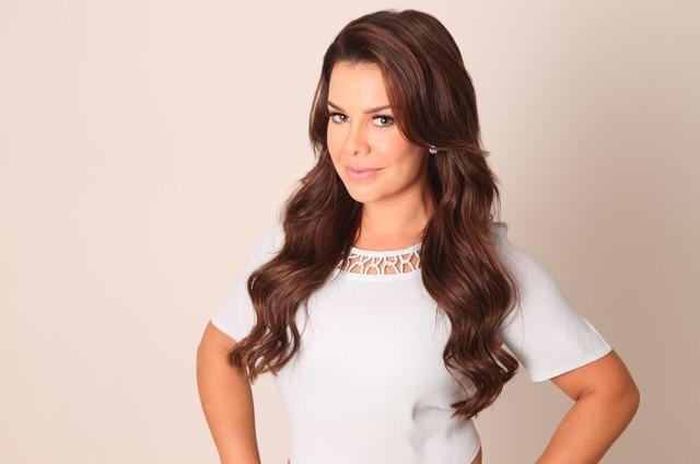 A atriz e apresentadora Fernanda Souza (Foto: Divulgação)