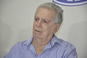 Carlos Orione presidente da Federação Mato-grossense de Futebol FMF (Foto: Robson Boamorte)