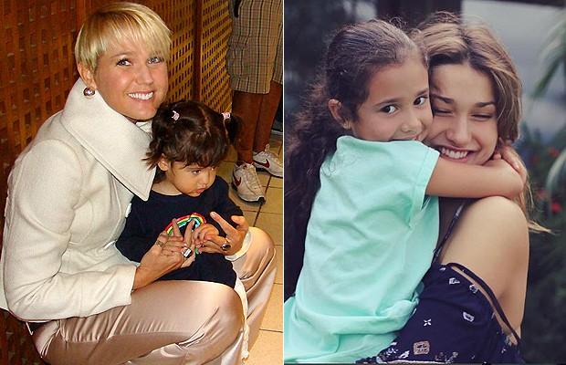 Xuxa e Sasha amam crianças (Foto: Reprodução Instagram )