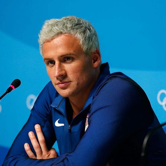 O nadador americano Ryan Lochte (Foto: Matt Hazlett/Getty Images)