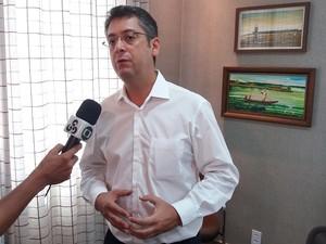 Clécio Luís (Rede), prefeito de Macapá e presidente da Associação dos Municípios do Amapá (Foto: John Pacheco/G1)