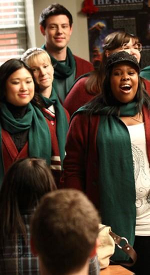 Glee - Clube glee no clima do Natal (Foto: Divulgação / Twentieth Century Fox)