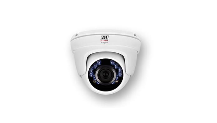 Câmera de segurança JFL CD-3120F Dome tem design compacto e proteção de chuva (Foto: Divulgação/JLF)