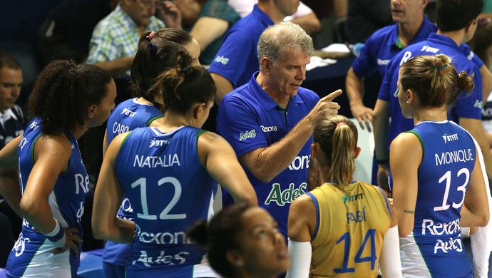 Bernardinho comandou as meninas do Rio de Janeiro na Argentina (Foto: Fernando Maia/MPIX)