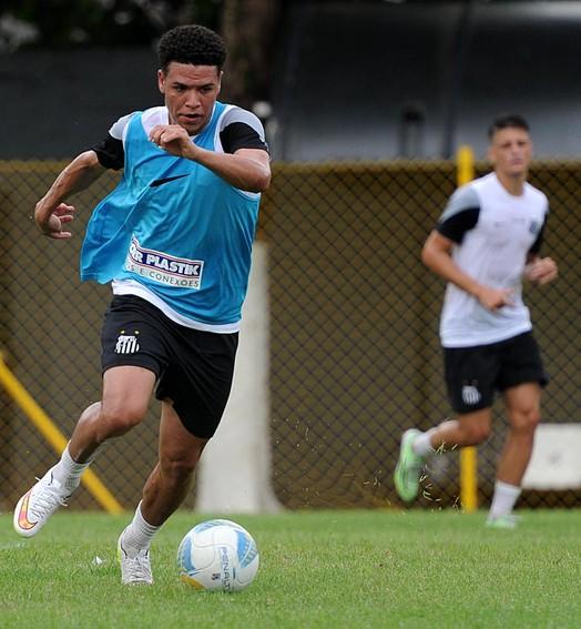 quebra o rítmo (Ivan Storti/Santos FC)