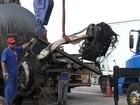 Morre motorista de caminhão que pegou fogo na Dom Pedro em Itatiba