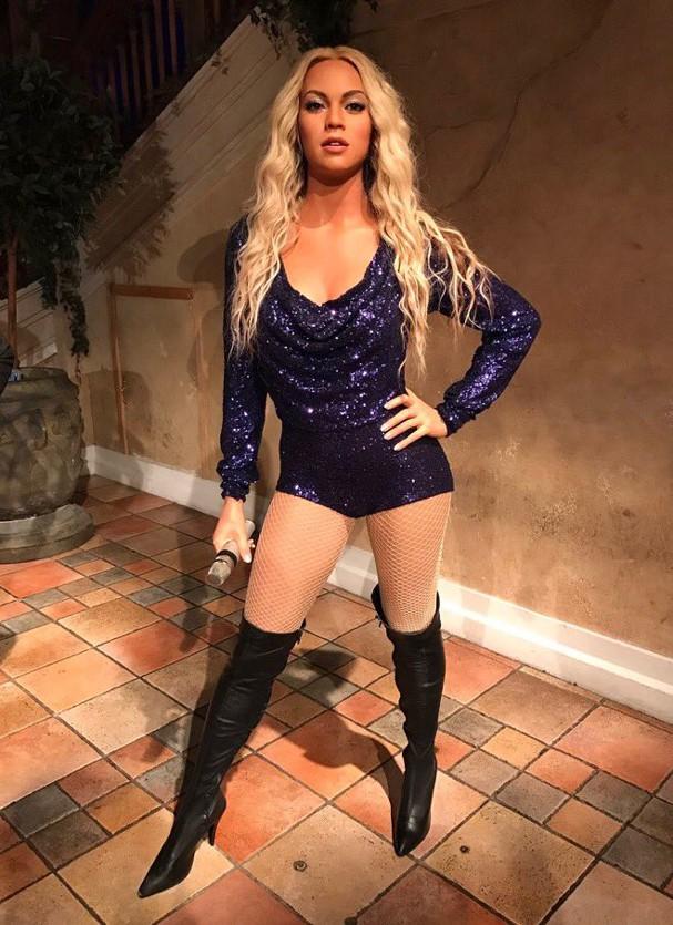Estátua de cera de Beyoncé foi removida de museu em NY (Foto: Reprodução)