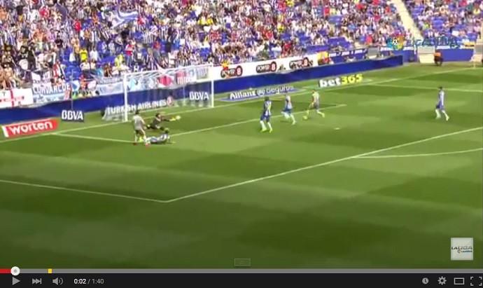Gol Cristiano Ronaldo Real Madrid sobre Espanyol