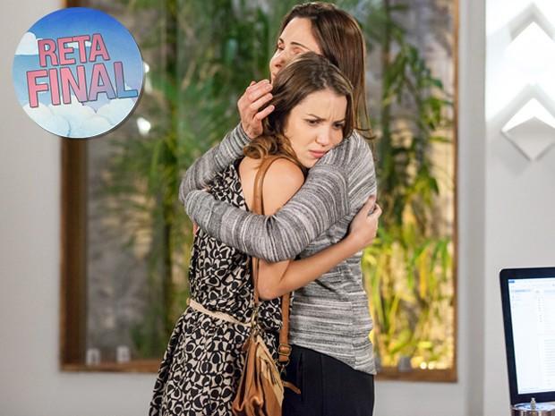 Laura vai desconfiar de suposta maternidade de Úrsula (Foto: Fabiano Battaglin/ Gshow)