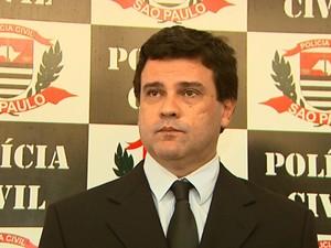 Delegado Claudio Sales Junior (Foto: Paulo Souza/EPTV)
