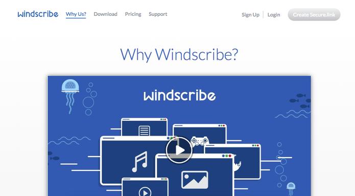 Windscribe é para quem preza por segurança (Foto: Reprodução/Felipe Vinha)