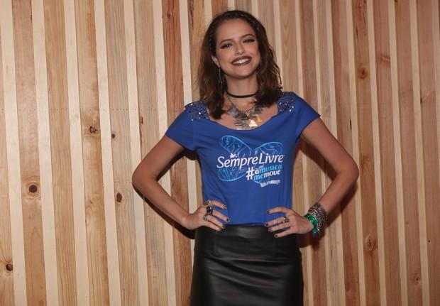 Agatha Moreira no Lollapalooza (Foto: Celso Tavares/EGO)