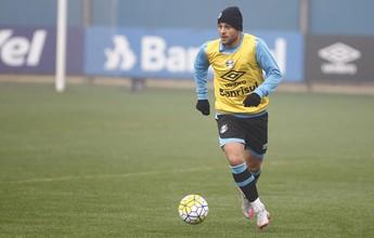 Douglas é preservado no Grêmio, e Bobô deve enfrentar o Atlético-PR
