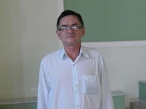 Padre Itamar da Paróquia São Judas Tadeu em Uberlândia, MG (Foto: Caroline Aleixo/G1)