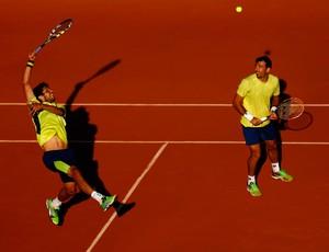 Melo e Dodig em Roland Garros (Foto: Getty Images)